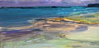 Daily Painting Storm Over Daymer, Sold, NEAC Open Exhibition, Mall Galleries,2014