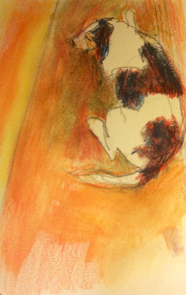Watercolour, 10 x 15 cm