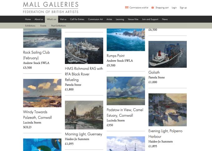 Royal Society of Marine Artists,2015