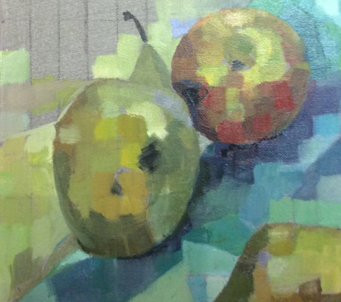 Still life, oil on canvas, 35x26cm