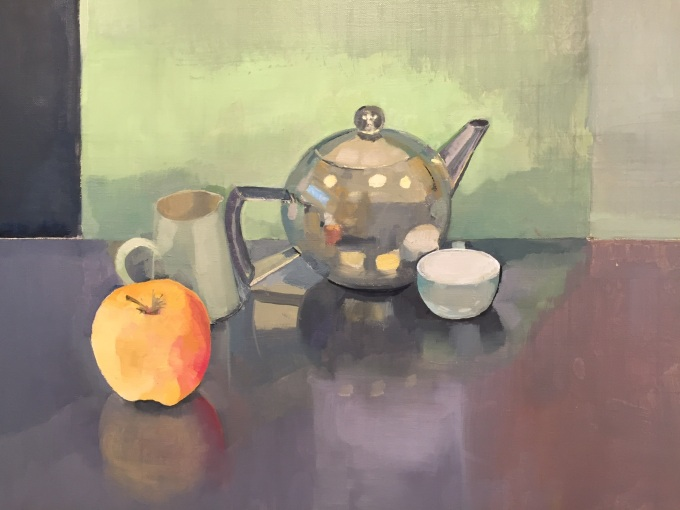 Still life, oil on canvas 32x41cm